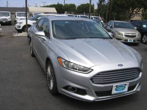 2016 Ford Fusion for sale at In-House Auto Finance in Hawthorne CA