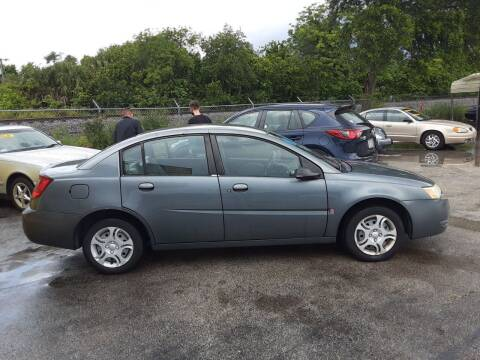 2005 Saturn Ion for sale at Easy Credit Auto Sales in Cocoa FL