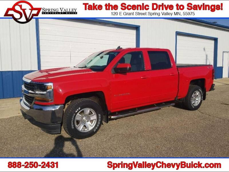 2016 Chevrolet Silverado 1500 for sale at Spring Valley Chevrolet Buick in Spring Valley MN