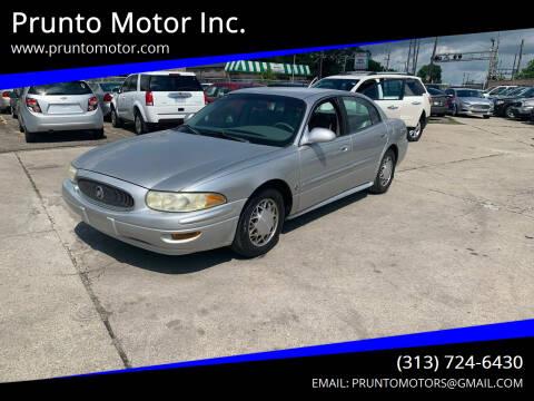 2002 Buick LeSabre for sale at Prunto Motor Inc. in Dearborn MI