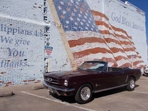 1965 Ford Mustang for sale at LARRY'S CLASSICS in Skiatook OK