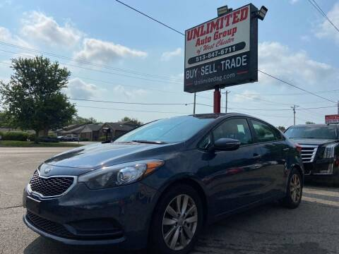 2016 Kia Forte for sale at Unlimited Auto Group in West Chester OH