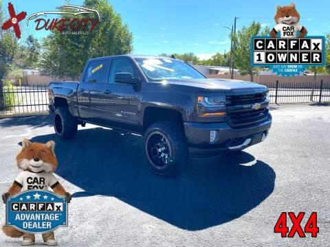 2016 Chevrolet Silverado 1500 for sale at DUKE CITY AUTO SALES in Albuquerque NM