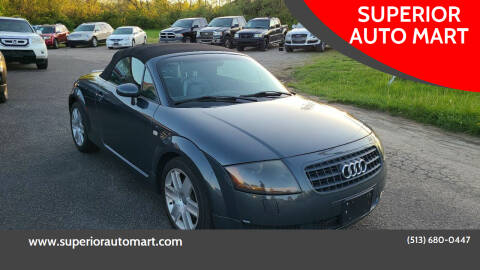 2003 Audi TT for sale at SUPERIOR AUTO MART in Amelia OH