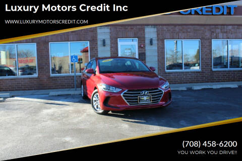 2017 Hyundai Elantra for sale at Luxury Motors Credit Inc in Bridgeview IL