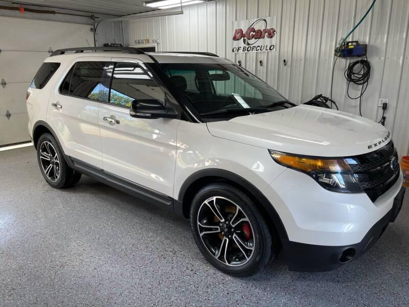 2014 Ford Explorer for sale at D-Cars LLC in Zeeland MI