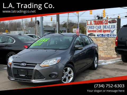 2014 Ford Focus for sale at L.A. Trading Co. in Woodhaven MI