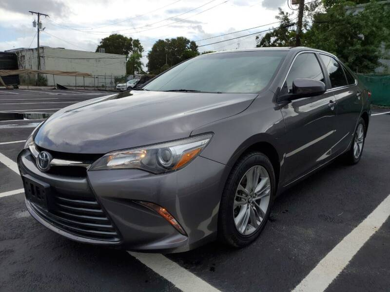 2017 Toyota Camry for sale at Eden Cars Inc in Hollywood FL