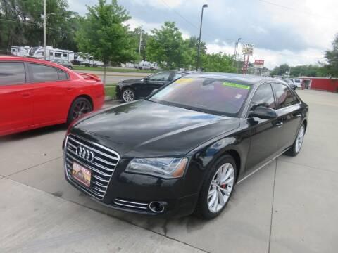 2012 Audi A8 L for sale at Azteca Auto Sales LLC in Des Moines IA