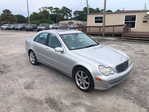 2003 Mercedes-Benz C-Class for sale at Friendly Finance Auto Sales in Port Richey FL