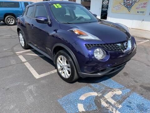 2015 Nissan JUKE for sale at Robert Judd Auto Sales in Washington UT