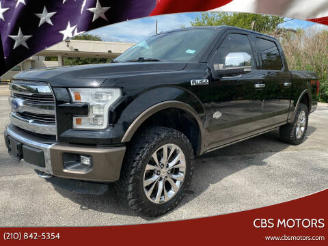 2016 Ford F-150 for sale at CBS MOTORS in San Antonio TX