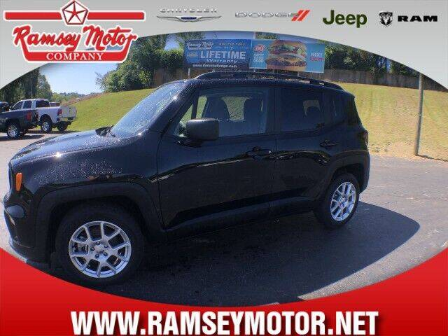 2020 Jeep Renegade for sale at RAMSEY MOTOR CO in Harrison AR