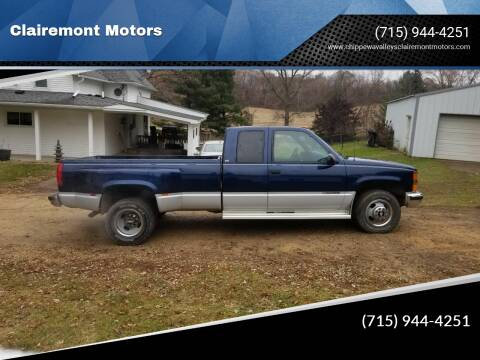 1995 Chevrolet C/K 3500 Series for sale at Clairemont Motors in Eau Claire WI