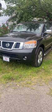 2012 Nissan Armada for sale at Whiting Motors in Plainville CT