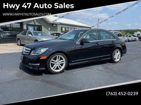 2013 Mercedes-Benz C-Class for sale at Hwy 47 Auto Sales in Saint Francis MN