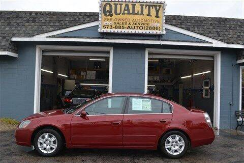 2006 Nissan Altima for sale at Quality Pre-Owned Automotive in Cuba MO
