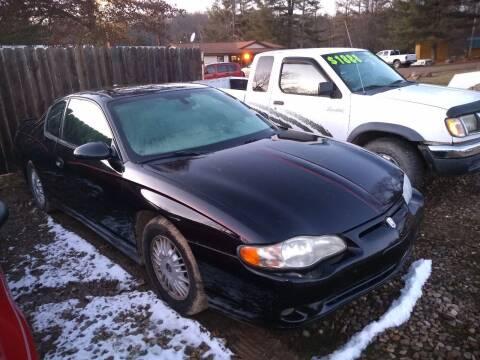 2005 Chevrolet Monte Carlo for sale at Seneca Motors, Inc. (Seneca PA) in Seneca PA