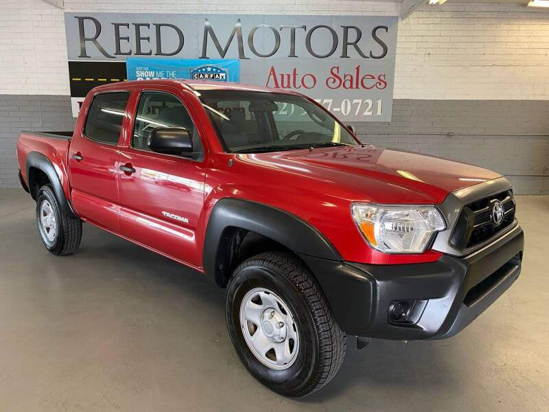 2013 Toyota Tacoma for sale at REED MOTORS LLC in Phoenix AZ