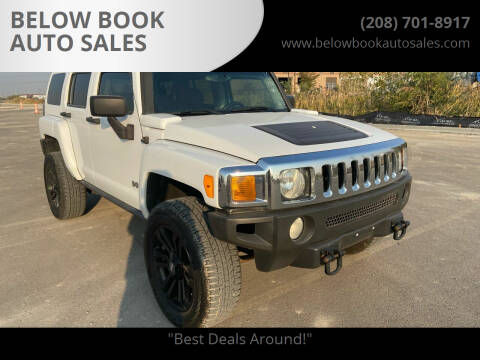 2007 HUMMER H3 for sale at BELOW BOOK AUTO SALES in Idaho Falls ID