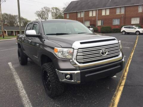 2015 Toyota Tundra for sale at DEALS ON WHEELS in Moulton AL