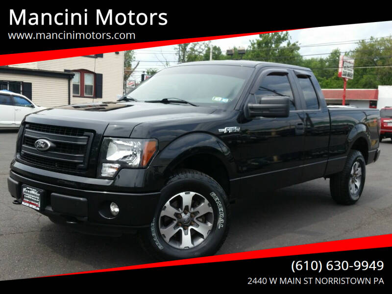 2013 Ford F-150 for sale at Mancini Motors in Norristown PA