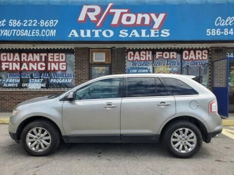 2008 Ford Edge for sale at R Tony Auto Sales in Clinton Township MI