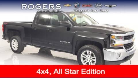 2018 Chevrolet Silverado 1500 for sale at ROGERS  AUTO  GROUP in Chicago IL
