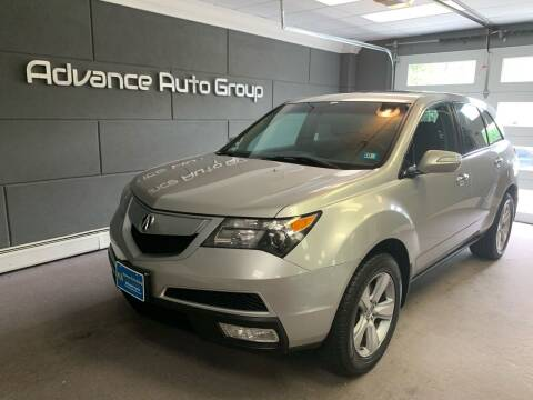 2010 Acura MDX for sale at Advance Auto Group, LLC in Chichester NH
