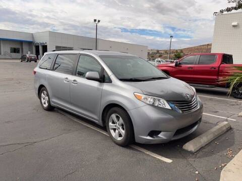 2015 Toyota Sienna for sale at Stephen Wade Pre-Owned Supercenter in Saint George UT