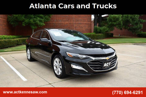 2020 Chevrolet Malibu for sale at Atlanta Cars and Trucks in Kennesaw GA