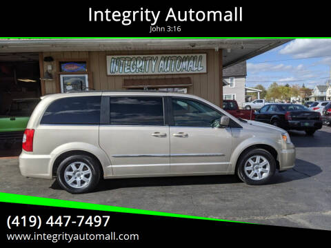 2012 Chrysler Town and Country for sale at Integrity Automall in Tiffin OH