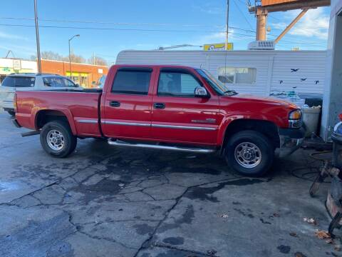 2002 GMC Sierra 2500HD for sale at All American Autos in Kingsport TN