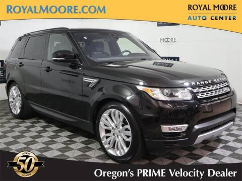 2017 Land Rover Range Rover Sport for sale at Royal Moore Custom Finance in Hillsboro OR