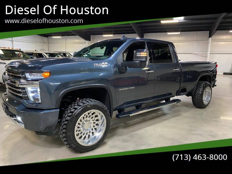 2020 Chevrolet Silverado 3500HD for sale at Diesel Of Houston in Houston TX