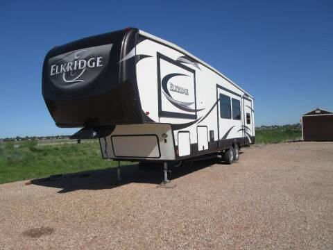 2014 Heartland ELKRIDGE for sale at STEVES ROLLIN STONE AUTO SALES in Eaton CO