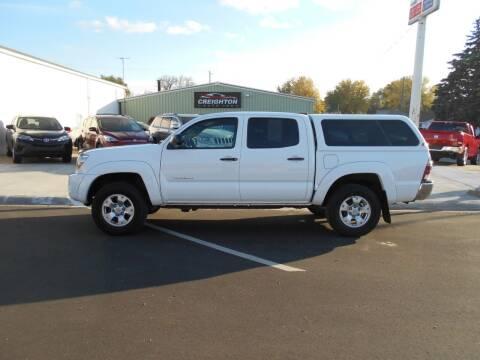 2009 Toyota Tacoma for sale at Creighton Auto & Body Shop in Creighton NE