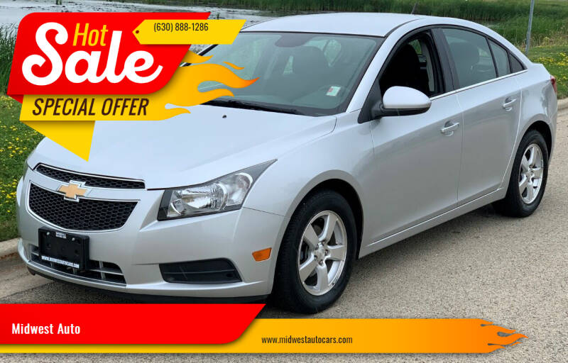 2012 Chevrolet Cruze for sale at Midwest Auto in Naperville IL