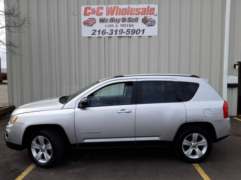 2012 Jeep Compass for sale at C & C Wholesale in Cleveland OH