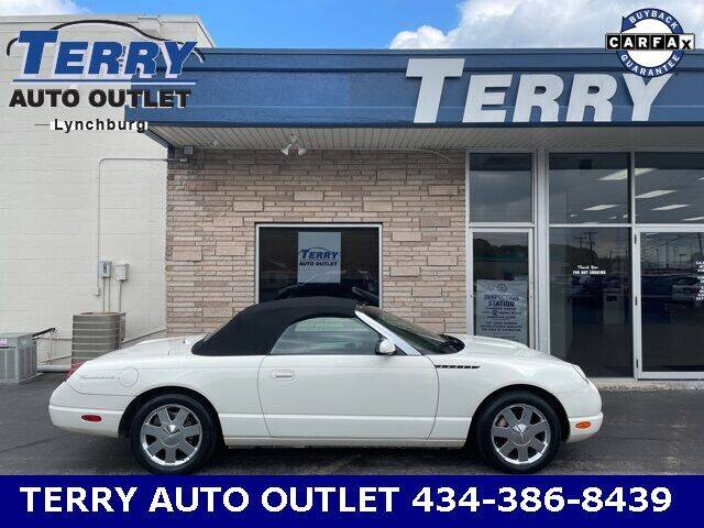 2002 Ford Thunderbird for sale at Terry Auto Outlet in Lynchburg VA