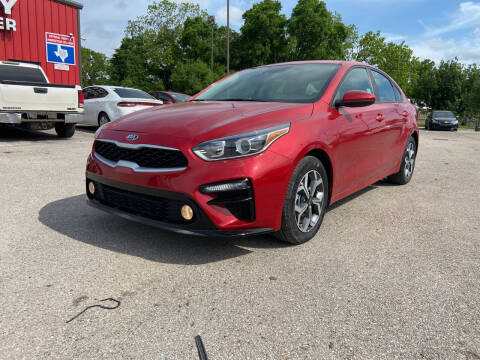 2019 Kia Forte for sale at Space City Auto Center in Houston TX