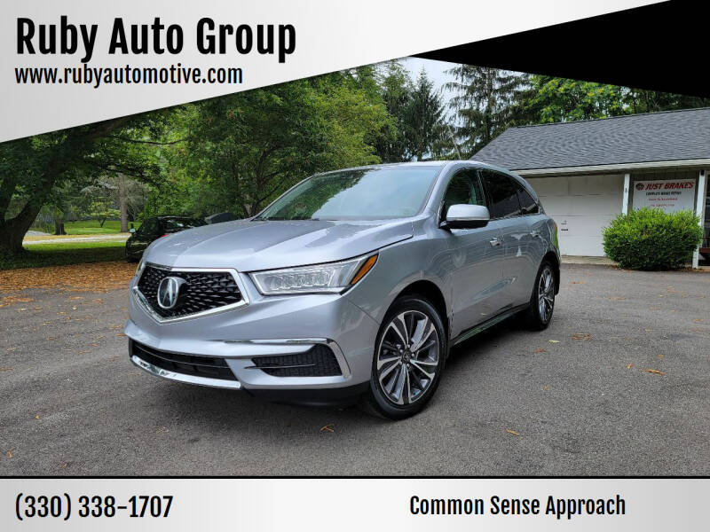 2019 Acura MDX for sale at Ruby Auto Group in Hudson OH
