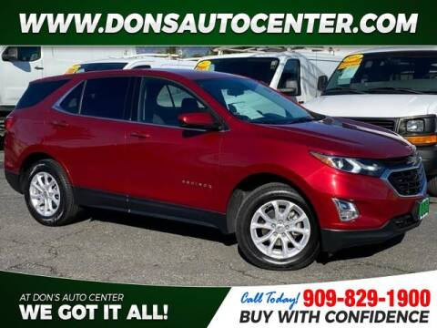 2018 Chevrolet Equinox for sale at Dons Auto Center in Fontana CA