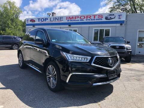 2017 Acura MDX for sale at Top Line Import of Methuen in Methuen MA