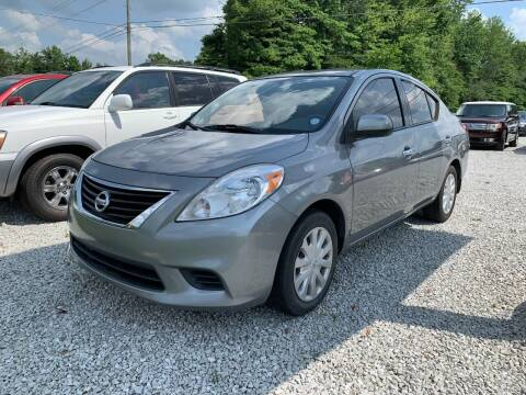 2014 Nissan Versa for sale at Doyle's Auto Sales and Service in North Vernon IN