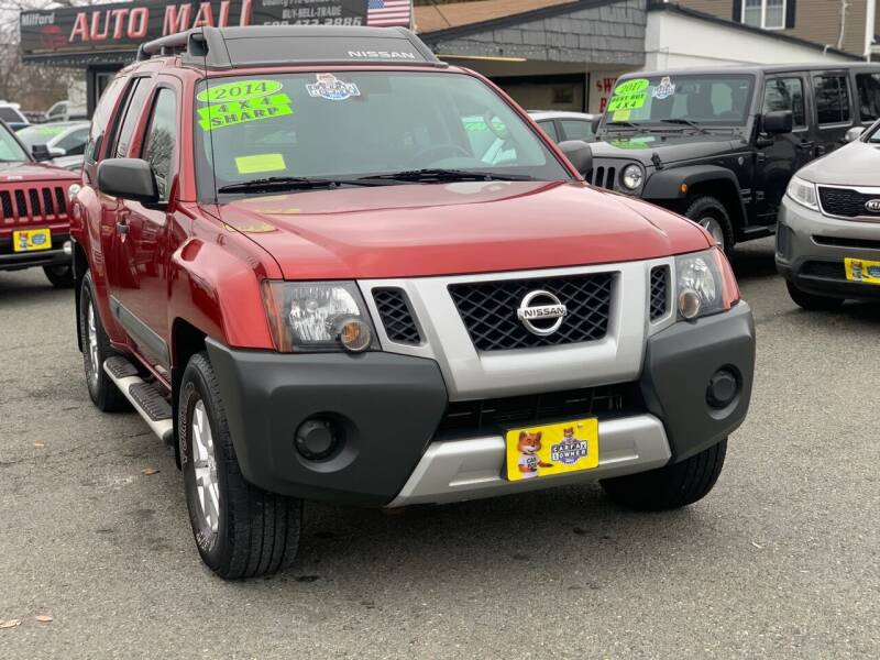 2014 Nissan Xterra for sale at Milford Auto Mall in Milford MA