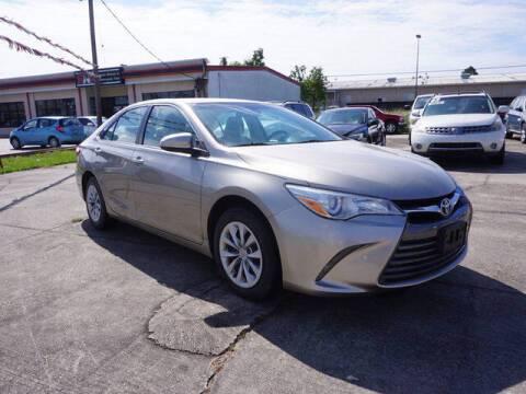 2015 Toyota Camry for sale at BLUE RIBBON MOTORS in Baton Rouge LA