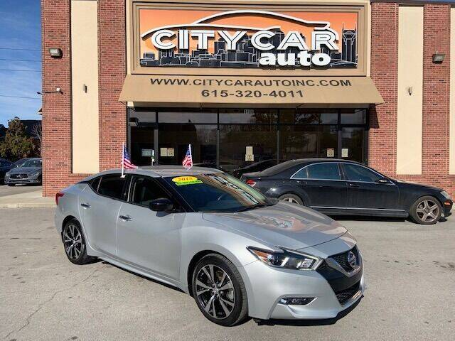 2018 Nissan Maxima for sale at CITY CAR AUTO INC in Nashville TN