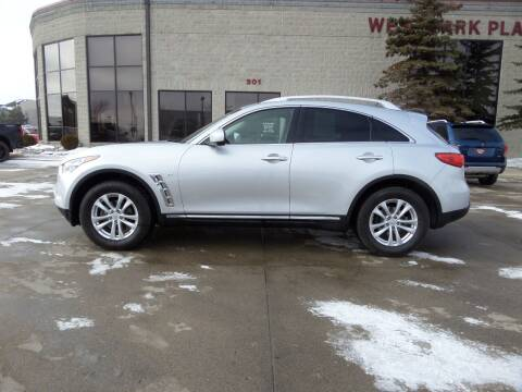 2015 Infiniti QX70 for sale at Elite Motors in Fargo ND