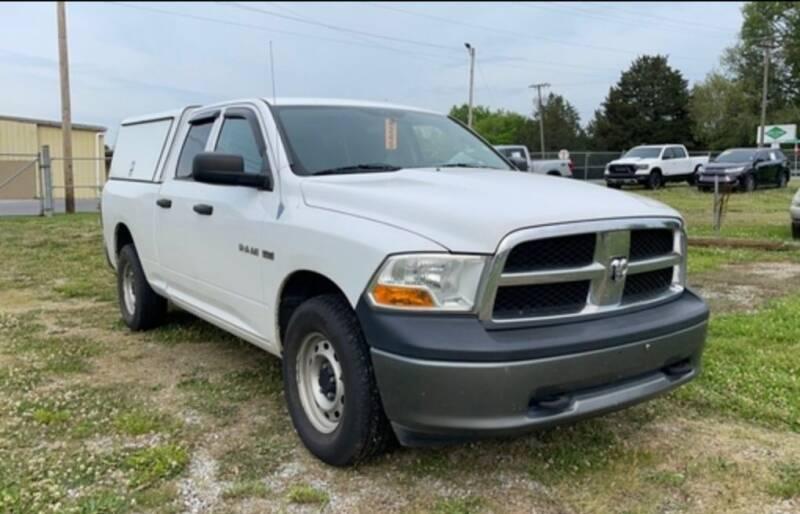 2010 Dodge Ram Pickup 1500 for sale at DON BAILEY AUTO SALES in Phenix City AL